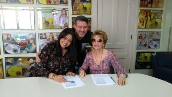 Gisele Nascimento renova contrato com MK