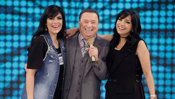 Fernanda Brum e Eyshila cantam no programa Raul Gil