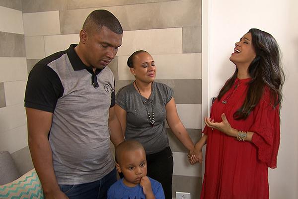 A cantora na oportunidade, interpretou a canção, Sabor de Mel onde emocionou a família e todos que estavam presente no momento.