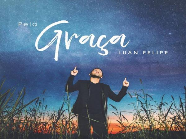 Recentemente o próprio cantor Luan Filipe, divulgou a capa oficial do novo trabalho em sua rede social oficial. (foto:Divulgação)