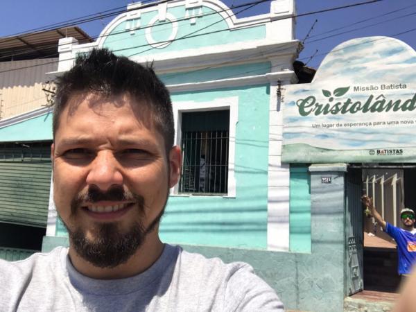 Pastor de Carangola visita Cristolândia em BH
