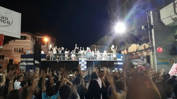 O evento reúne as denominações municipais e regionais, mostrando a unidade da igreja, todos no mesmo objetivo, adorar e celebrar a Deus. (foto:Fábio Emerick/Portal Alfavip)