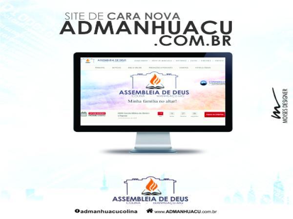 Conheça o novo site www.admanhuacu.com.br e fique por dentro das programações da igreja em Manhuaçu (foto:DIvulgação/ADColina)