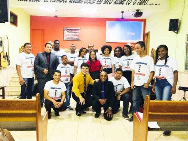 Assembleia de Deus de Faria Lemos comemora 36 anos do conjunto de jovens