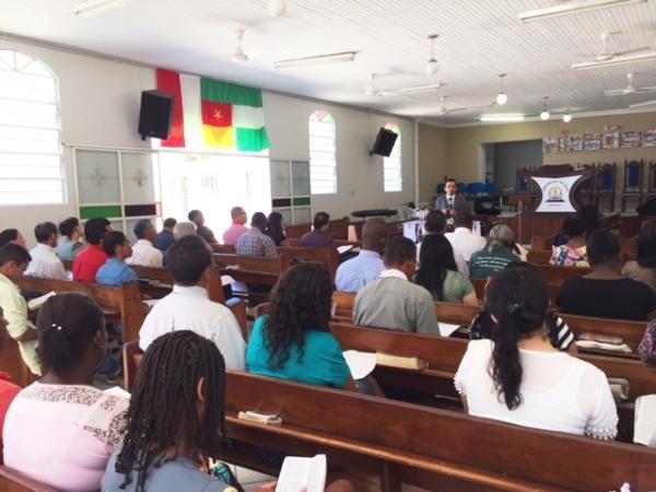 Assembleia de Deus de Manhuaçu ministrou curso aos obreiros
