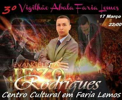 Igreja Assembleia de Deus irá promover terceirovigilhãoem Faria Lemos