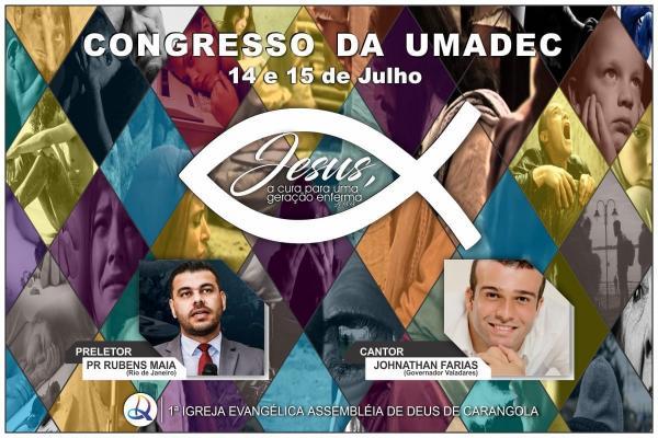 UMADEC promove congresso de jovens na Assembleia de Deus em Carangola