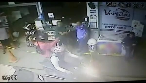Posto de Combustíveis é assaltado em Carangola