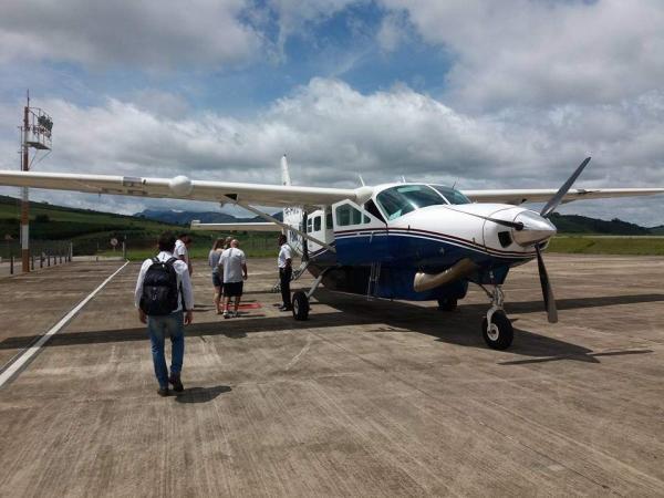 Na terças, quartas e quintas, continua um voo nos dias úteis. Saída de Manhuaçu às 9:45 e aterrissagem em BH às 11:10. O voo BH para Manhuaçu sai da Pampulha às 8 horas e chega em Santo Amaro de Minas às 9:25 (Foto/Divulgação)