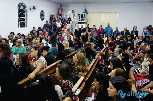 Primeira Assembleia de Deus de Durandé recebe o congresso de mulheres