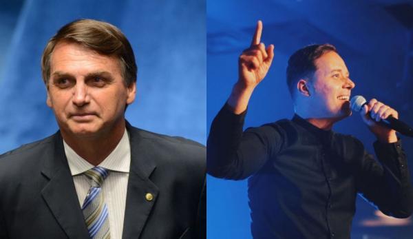 Bolsonaro agradece apoio do cantor André Valadão