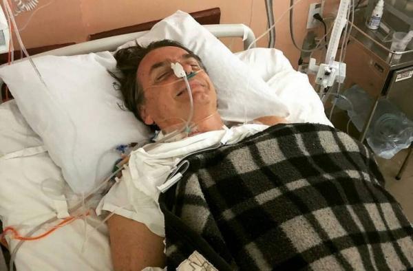 O presidenciável está internado desde sexta-feira (7) no hospital na Zona Sul de São Paulo se recuperando de uma facada levada durante ato de campanha no Centro de Juiz de Fora (MG), na tarde de quinta (6).