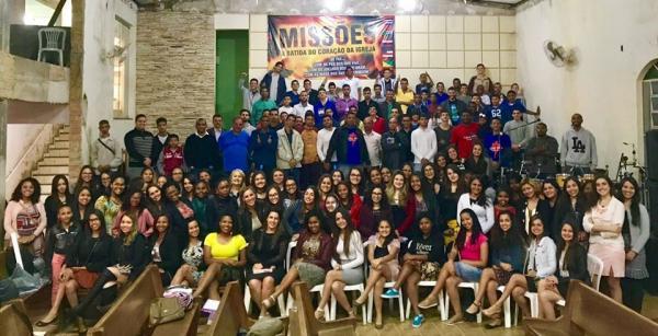Jovens da UMADEMAR - Primeira Assembleia de Deus em Manhuaçu (Foto/Umademar)