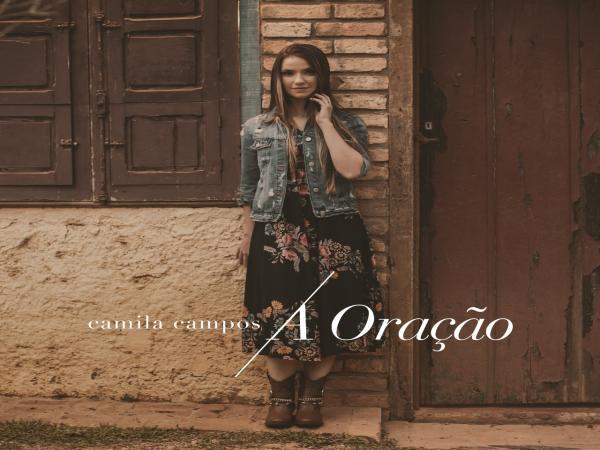 """Camila Campos lança videoclipe com single autoral """"A Oração"""""""