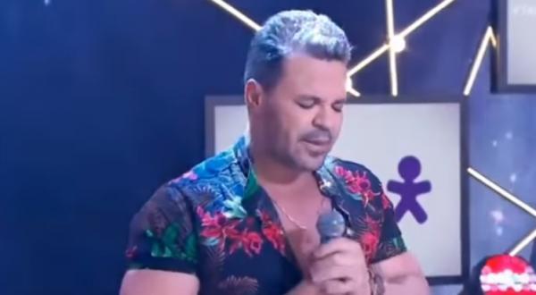 Eduardo Costa surpreende ao cantar gospel no Teleton, VEJA O VÍDEO