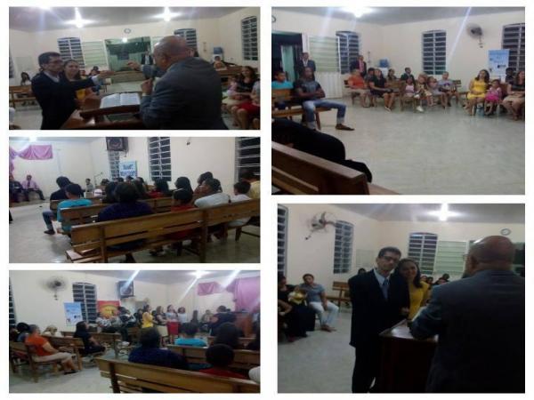 Pastor Arlisson Oliveira toma posse da AD Campestre em Manhumirim