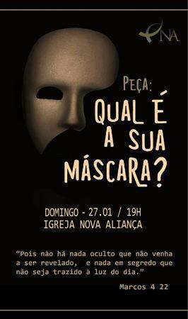 Igreja Nova Aliança apresenta teatro em Manhuaçu