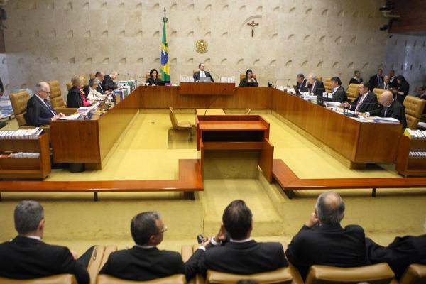 Plenário do Supremo Tribunal Federal, com sessão presidida pelo ministro Dias Toffoli. (Foto: Nelson Jr.)