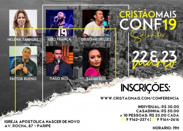 Vem aí a 2º Edição da Conferência Cristão Mais em Salvador (BA)