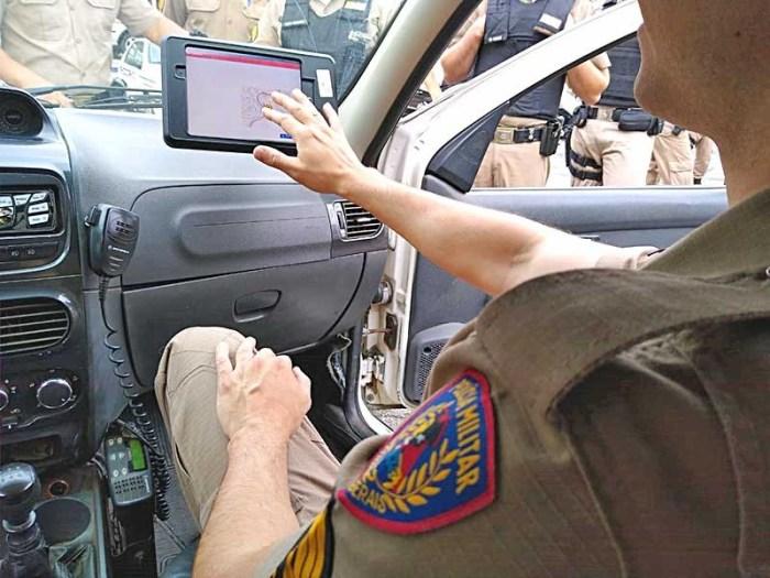 Será utilizado também para que os policiais nas funções de comando e coordenação possam identificar em tempo real o cumprimento destas operações pelas viaturas (Fot/Divulgação)