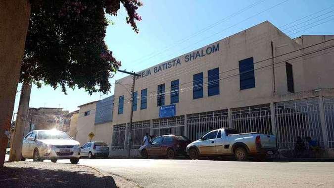 Fachada da Igreja Batista Shalom em Paracatu, município de Minas Gerais. (Foto: Carlos Vieira/CB/D.A Press)