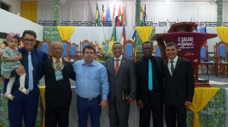 A Igreja é presidida pelo pastor Geraldo Donato, ligado na Convenção Mineira CIMADEMIGO, Pastor Nehemias Araújo.