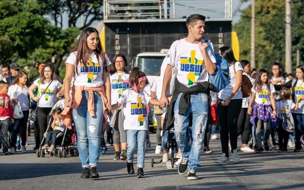 Maior evento evangélico do país, a Marcha Para Jesus chega neste ano a sua 27ª edição em São Paulo.