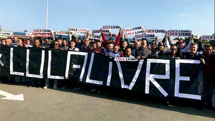 Mais de 100 integrantes da juventude petista foram a Curitiba com passagens aéreas pagas com recursos do governo federal (Foto: Divulgação)