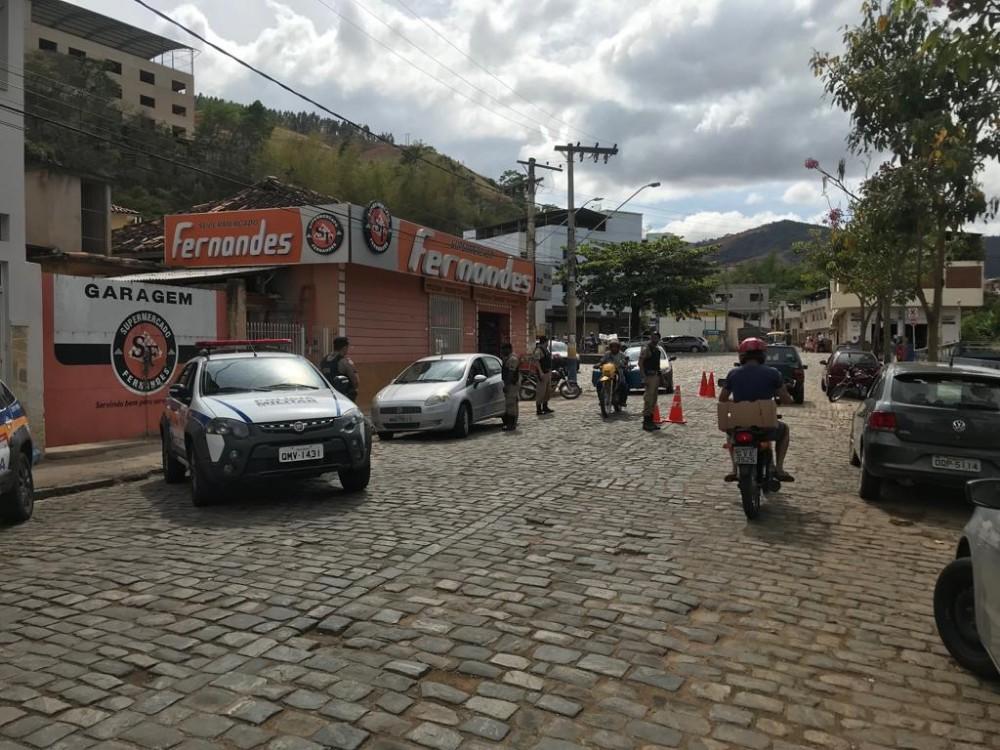 PM de Manhuaçu e região no combate ao crime
