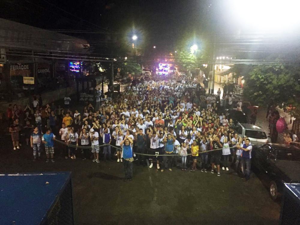 Aconteceu neste sábado 26/10, mais uma edição da Marcha para Jesus 2019 em Manhuaçu.