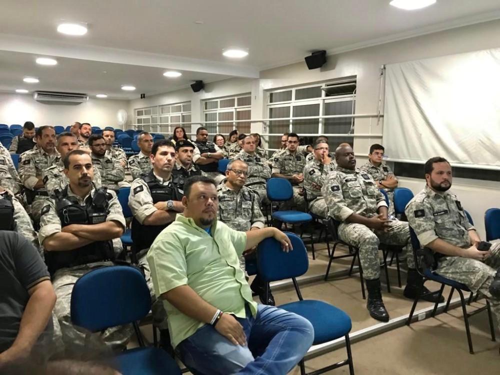Primeira Igreja Batista de Manhuaçu levou palestra aos Agentes Penitenciários do presídio de Manhuaçu