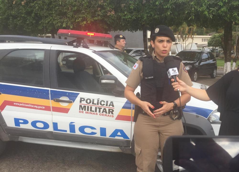 Operação República da PM em Manhuaçu (foto/Portal Alfavip)