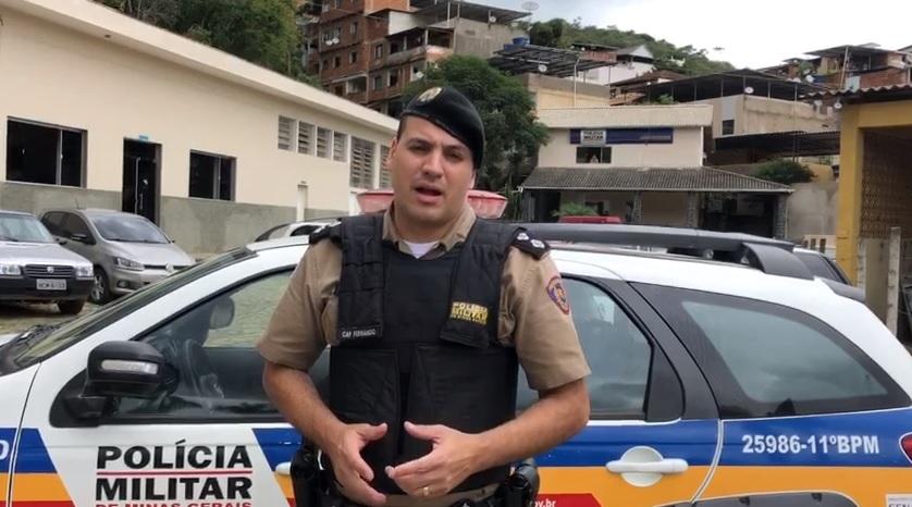 PM de Manhuaçu realiza escolta de menor após internação decretada pelo Poder Judiciário