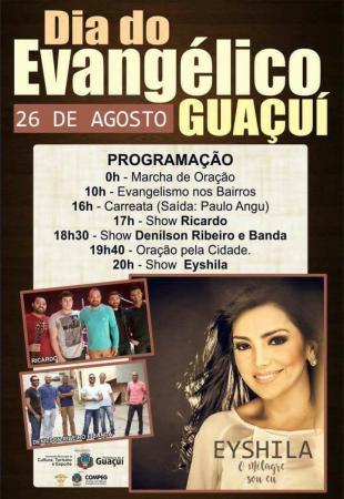 Eyshila estará em Guaçui no dia do evangélico