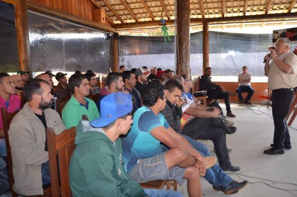 Agrofértil Santiago promove curso de manutenção de roçadeiras e derriçadeiras