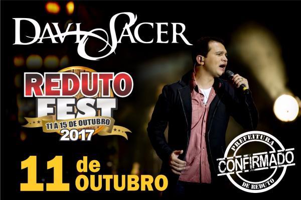 Reduto Fest terá participação do cantor Davi Sacer