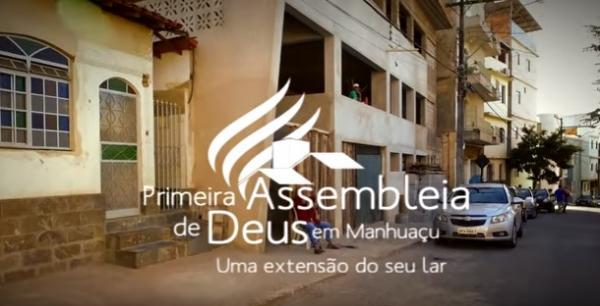 Novo templo Primeira Assembleia de Deus em Manhuaçu-MG