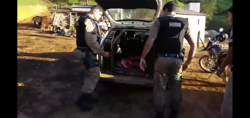 Polícia Militar prende autor de homicídio na Vila Formosa em Manhuaçu